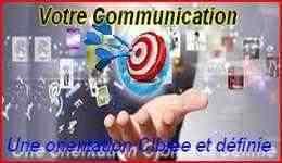 Votre Communication, nous la voyons dans la simplicité, dans l'essentielle pour vos visiteurs-consultants.